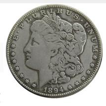 USA 1894 1904 1902 1872 1921 1892 1895 1889 1888 Silver Plated Morgan Do... - $10.99