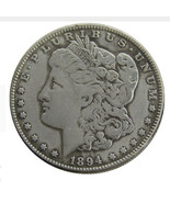 USA 1894 1904 1902 1872 1921 1892 1895 1889 1888 Silver Plated Morgan Do... - $212,19 MXN