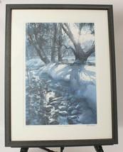 Tom Lynch Limited Edition Print Snow Shadows Signed COA Professionally F... - $34.58