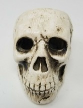 Ries Ceramic Skull Candle Holder Spooky and Scary - $7.91
