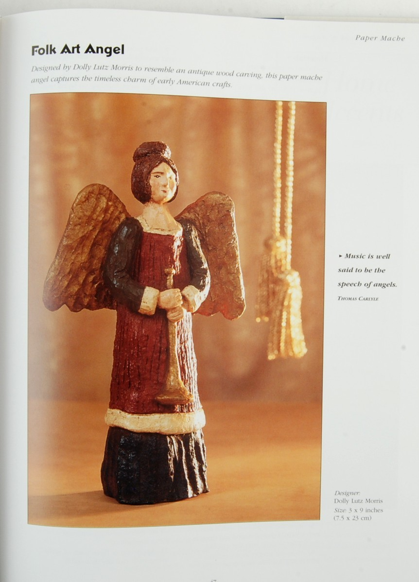 A Crafter's Book of Angels Deborah Morgenthal 75 Craft Projects Making