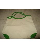 Clinique White Green Tote Bag - $9.99