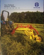 2001 New Holland 57, 256, 258, 260, 252, 216 Rolabar Rakes Brochure - $4.20