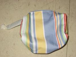 Estee Lauder Small Striped coin lipstick purse - $4.49
