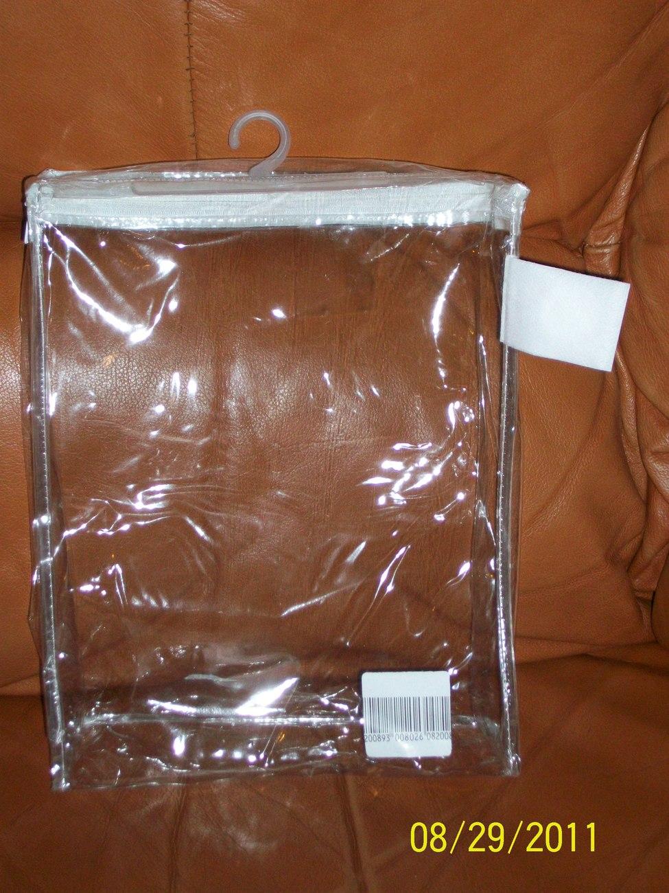 Clear Vinyl Liquid Carry-On Plastic Bags