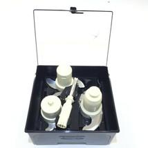Cuisinart FP16/14BKSC Attachments Blades Set With Case for Elite Food Pr... - $49.99