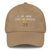 I Am More Than An Athlete Hat / King James / Basketball Dad hat image 13