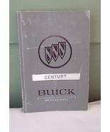 Century Buick 1992 Premium American Motorcars Owner's Manual - $10.00
