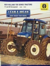 2007 New Holland TD80D, TD95D Tractors Brochure - $6.00