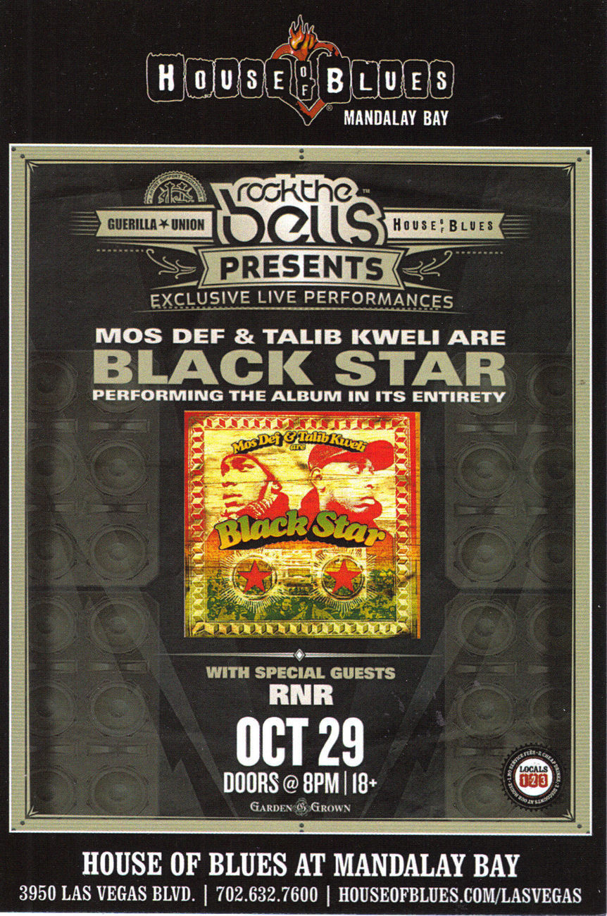 House of blues black star
