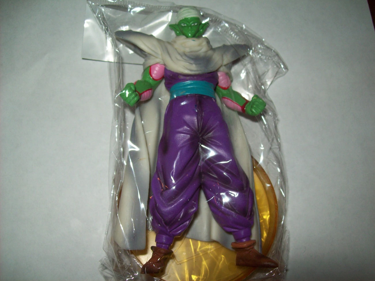 "piccolo dragonball z figure brand new in bag 5"" w/ stand"