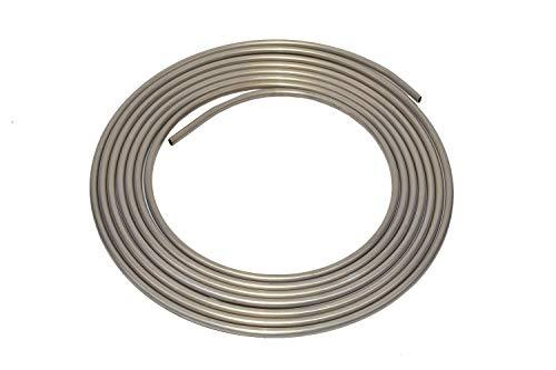 A-Team Performance 3003-Grade Aluminum Coiled Tubing Fuel Line Tube, 3/8 Inch, D