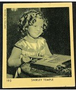1935 Klene #195 Shirley Temple Card - Creased - $8.86