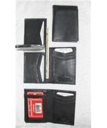 Genuine Leather Men's Tall Bi-Fold Wallet- #139 BLACK OR BROWN - $16.00
