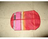 Clinique red striped makeup bag thumb155 crop