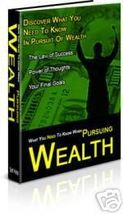 The Secrets Of Pursuing Wealth eBook - $1.99