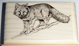 FOX CUB new mounted rubber stamp  - $8.00