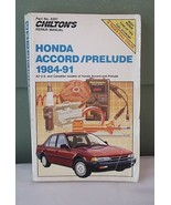 Honda Accord Prelude 1984 to 1991 Chiltons Repair Manual - $8.00
