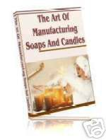 Soap candle making craft ebook