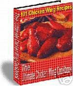 Chicken wing cookbook recipes