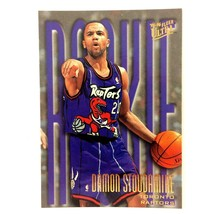 Damon Stoudamire 1995-96 Fleer Ultra Rookie Card #290 NBA Toronto Raptors - $1.93