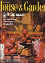 2) Issues-House&Garden-1965 Nov-Dec; Decorating;Cooking - $9.99