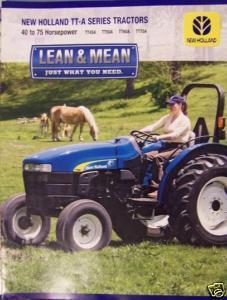 2007 New Holland TT45A, TT50A, TT60A, TT75A and 50 similar items New Holland Tt A Tractor Wiring Diagram on
