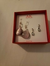 New In Box 2 Pair Anne Klien Nickel Free Earrings  - $7.91