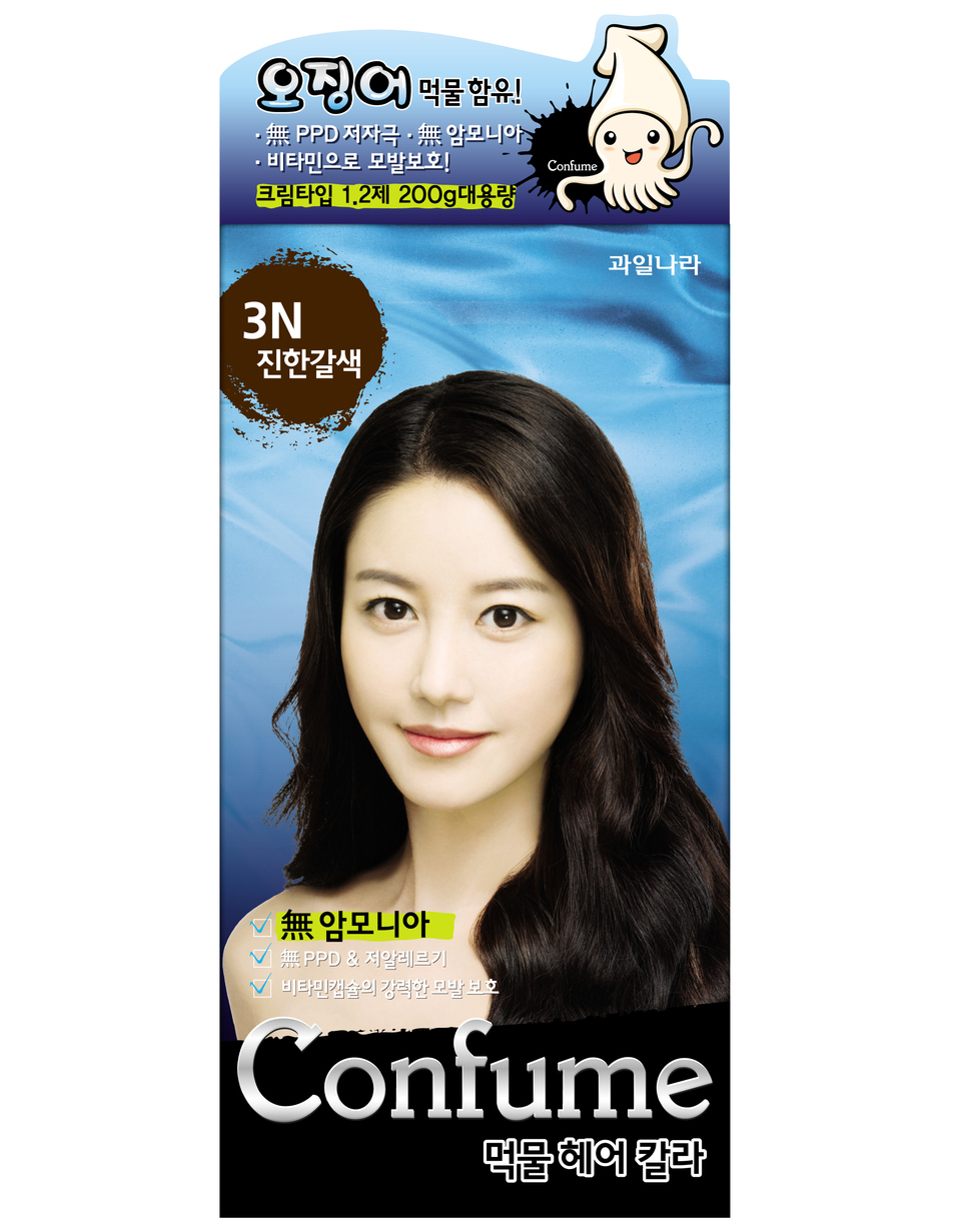 Confume Squid Ink Natural Hair Color Dye 3 N And 50 Similar Items