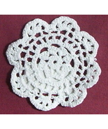 "4"" White Doily Great size to set your candle lamps on - $1.50"