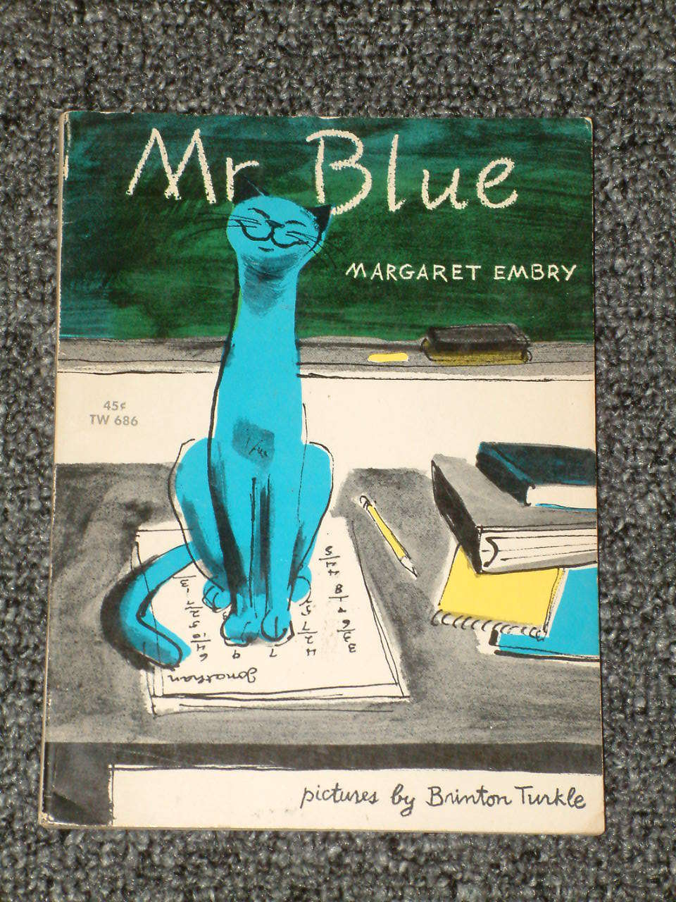 Mr. Blue by Margaret Embry and Brinton Turkle