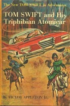 TOM SWIFT AND HIS TRIPHIBIAN ATOMICAR - TOM SWIFT JR 19 - LISTS TO #18 -... - $17.50