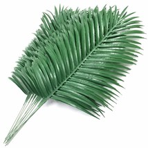 SLanC 12 Pack Artificial Palm Plants Leaves Faux Fake Tropical Large Pal... - $17.58