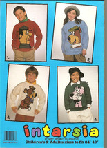 Vintage 4 Knitting Patterns YOGI BEAR Children Adult - $12.00