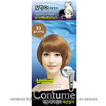 CONFUME SQUID INK NATURAL HAIR COLOR DYE - 93 GOLD BRWON (NO AMMONIA) - $15.99