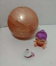LOL Surprise Lil Sugar Queen Confetti Pop Lil Sisters pink glitter purpl... - $9.89