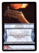 Horus Heresy Sedition's Gate - Aratan Capitol Ship Card #9 Sabertooth Ga... - $1.95