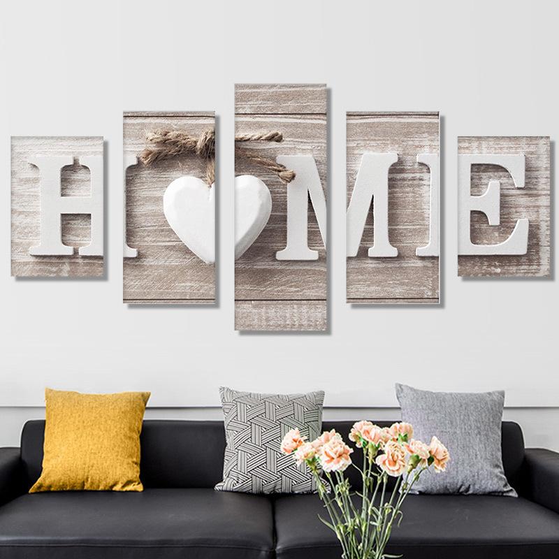 DIY Diamond Painting HOME Love 5D Embroidery Diamond Painting Mosaic Crafts