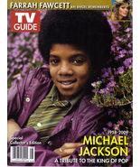 MICHAEL JACKSON FARRAH FAWCETT TV Guide Summer 2009 - $9.95