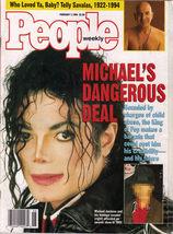 Michael Jackson Telly Savalas In People Weekly 1994 - $5.95