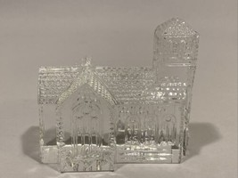 Waterford Crystal Signed 1994 Fred Curtis Lismore Village House Church V... - $79.99