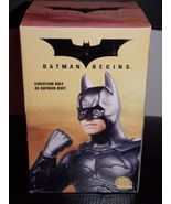 DC Batman Begins Christian Bale As Batman Bust ... - $49.99