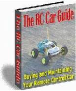 Radio Controlled Car Guide eBook - RC Car Guide - $1.99