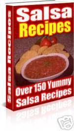 Salsa recipes ebook