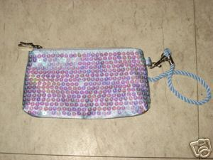 Tommy hilfiger true star sequined clutch purse