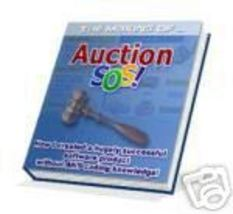 New Making of Auction SOS eBook Software Developemnt - $1.99