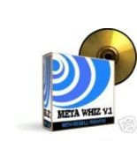 Meta Whiz v1.0 Software Effective Search Engine Tool - $1.99