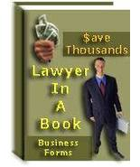 Lawyer In A Book - 100 Real Estate & Business Forms - $1.99
