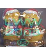 Christmas Teddy Bear Ceramic Salt and Pepper Shaker Set - $3.99