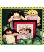 COUNTED CROSS STITCH CABBAGE PATCH KIDS XAVIER PROBERTS - $5.95